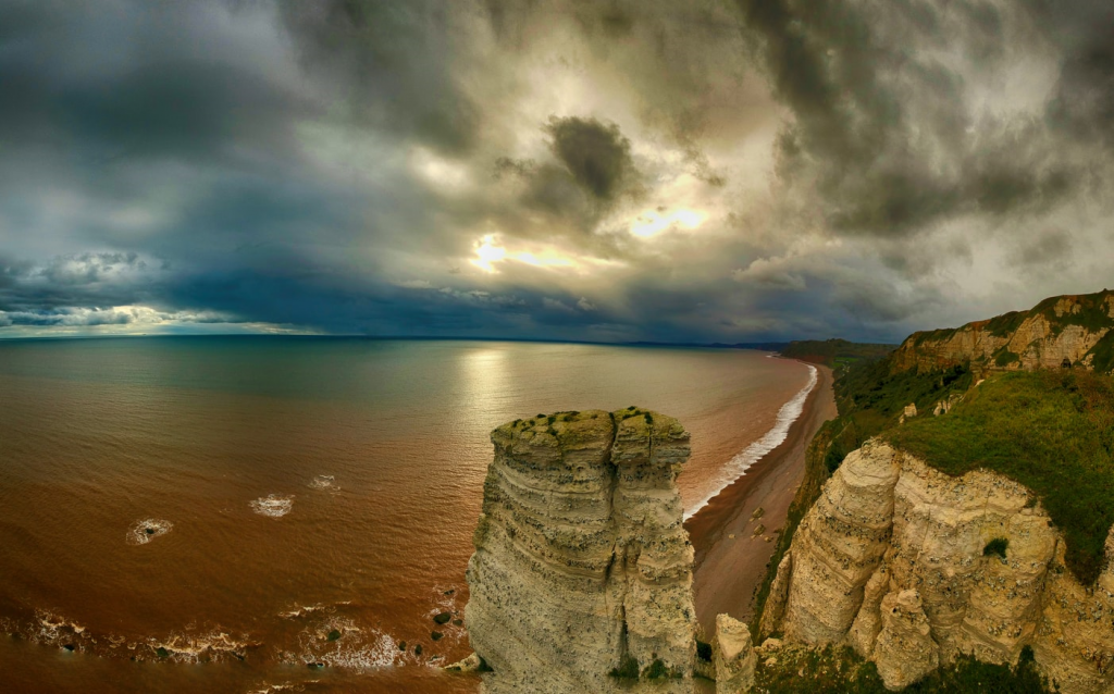seaton coastline